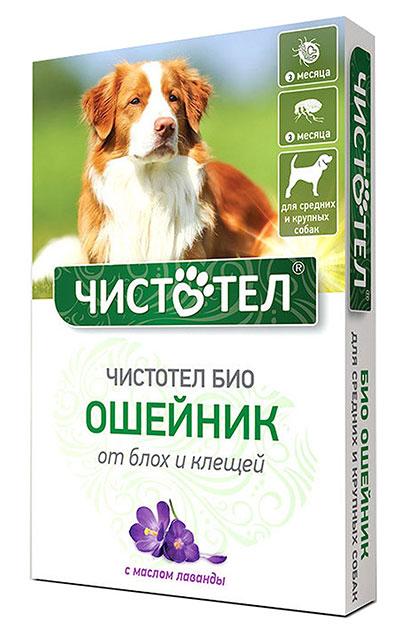 Чистотел Био для взрослых собак и щенков крупных пород